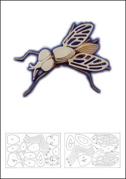 Чертеж муху