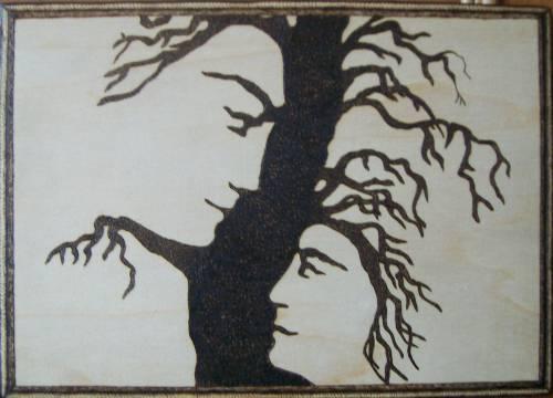 свой цитатник или сообщество!  Орел.  Дерево жизни.  Выжигание по дереву (Пирография).  Прочитать целикомВ.